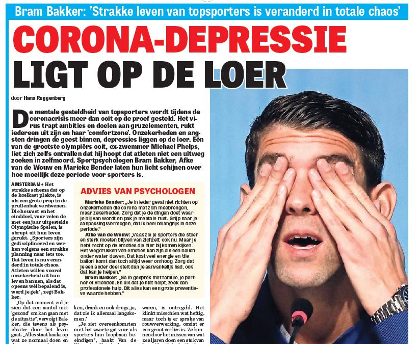 Corona-depressie ligt op de loer