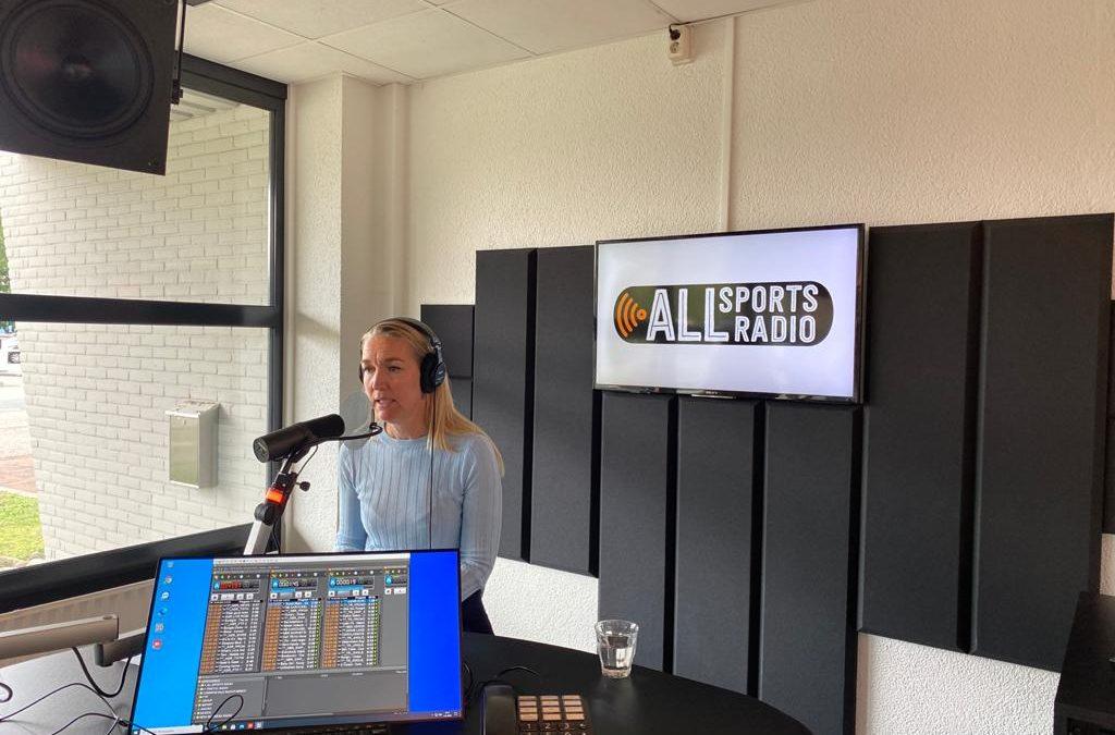 ALLsportsradio met Afke over 'Leren Presteren'